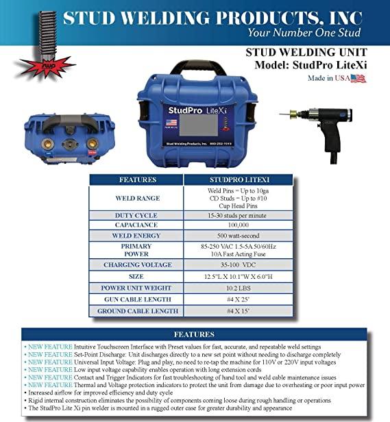 StudPro LiteXI Stud Welder Insulation Pin Welder product Review